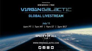 Virgin Galactic Unity 22 Spaceflight Livestream