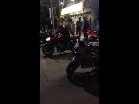Triumph speed triple vs Ducati panigale vs Suzuki Hayabusa in India. Rich brats of India.
