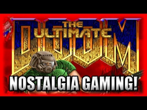 Kinetic Plays Original DOOM! - Nostalgia GAMING FTW! Ultimate DOOM PC