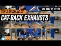The 3 Best Mustang Catback Exhaust For 1994-1998 Mustang GT