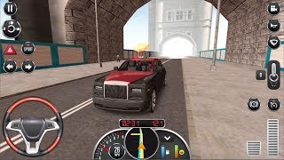 Taxi Sim 2016 #2 CRAZY DRIVER - Roll Royce City Drive Android gameplay