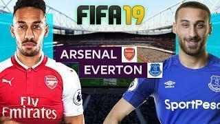 FIFA 19 | อาร์เซนอล VS เอฟเวอร์ตัน | ยิงกันไส้แตกอีกแล้ว + โหดโพด !! 29/9/2018
