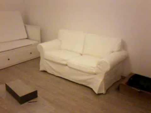 Sessel mit schlaffunktion ikea  Möbelmontage IKEA Bett Sofa Schreibtisch - YouTube