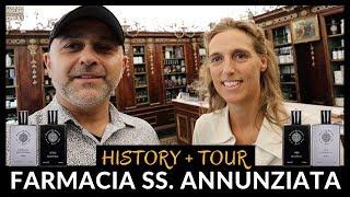 Farmacia SS. Annunziata History + Tour In Florence, Italy