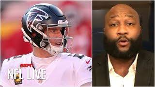 Marcus Spears says Falcons drafting a QB should be a no brainer | NFL Live