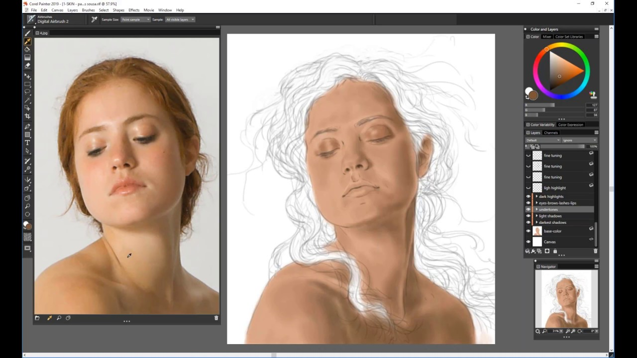 Webinar: Painting Realistic Skin and Hair - Corel Discovery Center