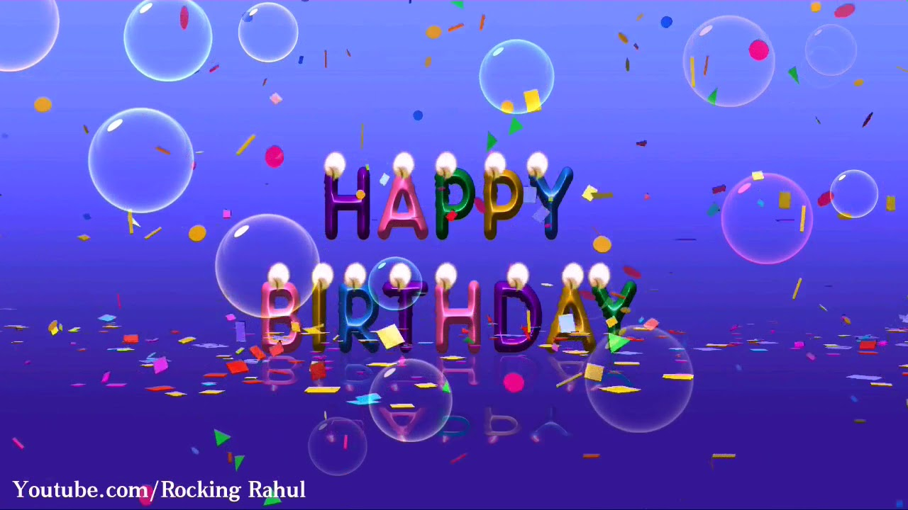 Happy Birthday Song Video Status Wishes Whatsapp