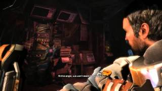 A short scene from our Dead Space 3 game (Twitch Stream)