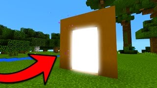 New Portal to the Sun in Minecraft Pocket Edition (Sun Portal Map)