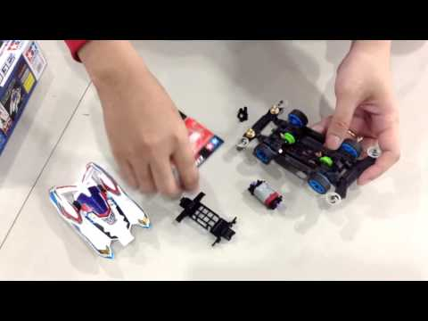 TAMIYA To Day 4 (Mini 4WD) : Moter Hyper-Dash Pro [Red]