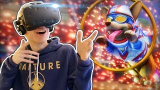 CORGI DOG SIMULATOR IN VIRTUAL REALITY! | Stunt Corgi VR (HTC Vive Gameplay)