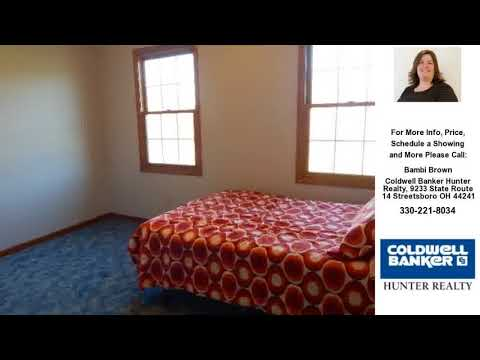 3137 Sanford Rd, Atwater, Ohio Presented by Bambi Brown.