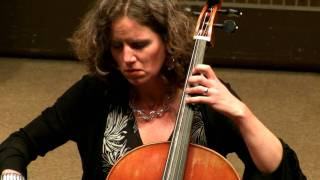Bach Cello Suite No 5 in C minor, BWV 1011 (4-6) Sarabande - Josephine van Lier