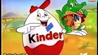 15 Spot KINDER SORPRESA - dal 1991 al 2000