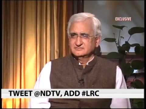 Interview of External Affairs Minister Shri Salman Khurshid to NDTV 24X7
