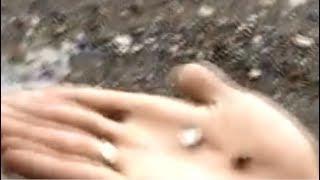 Moradores da Cidade de Russas ficam assustados com a Chuva de Granizo na última terça feira