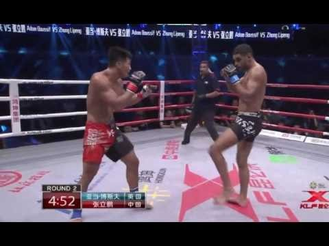 Zhang Lipeng (CHINA) vs Adan Boussif (UK) – MMA Welterweight Title - Kunlun Fight 53- LXH