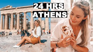24 Hours in ATHENS Travel Guide! | Tips for Visiting Athens Greece!