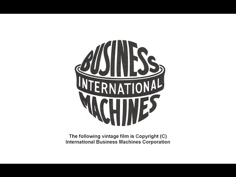 Vintage Computing - IBM History Film - 1919 - 1970