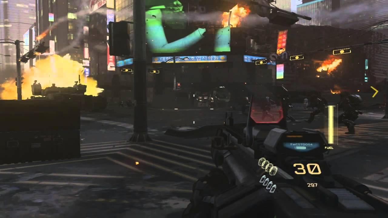Of Duty Advanced Warfare Test On Gb Ram And R