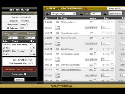 how do betting parlays works