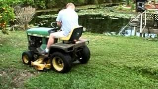 JOHN DEERE 330 diesel garden tractor