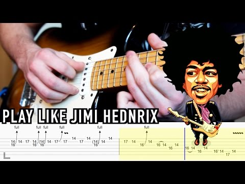 Play Like : Jimi Hendrix - Series One EP02 (with TABS)