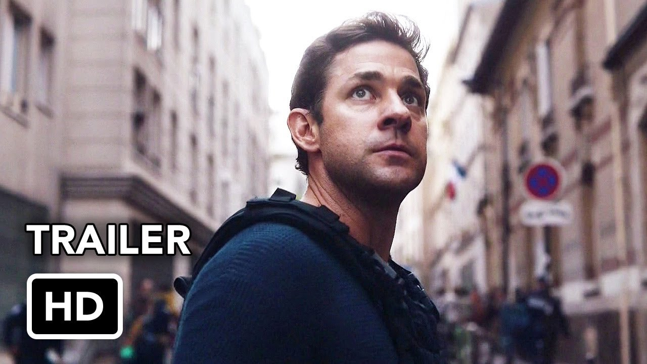 Tom Clancy's Jack Ryan (Amazon) Trailer HD - John Krasinski action series