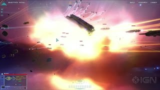 Homeworld Remastered: 37 Minutes of Gorgeous HD Gameplay - PAX South 2015