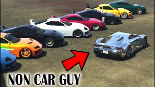 Your Non Car Guy Friend In GTA Online
