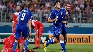 Highlights: Malta-Italia 0-1 (13 ottobre 2014)