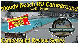Moody Beach RV Campġround - Wells, Maine - Thousand Trails Review