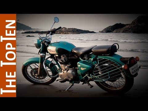 The Top Ten Coolest Classic Motorcycles