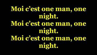 Download Greg Parys - One Man One Night Lyrics MP3 song and Music Video