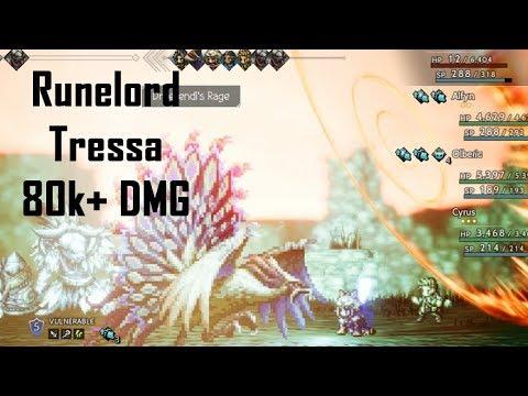 Tressa the Runelord - Octopath Traveler  
