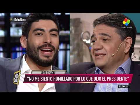 Moyano y Papaleo se cruzaron con Jorge Macri