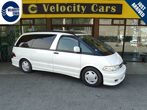 1998 Toyota Previa 65K's 4WD 7 seats TWIN-SUNROOF for sale in Vancouver, BC, Canada