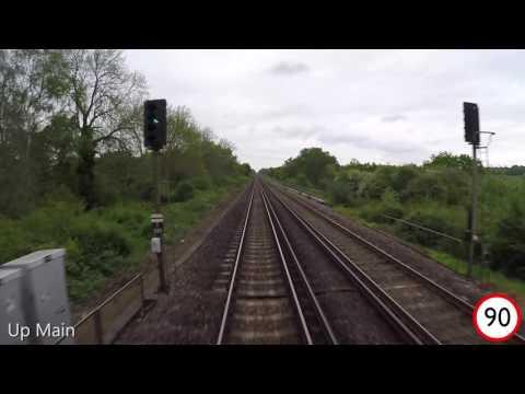 Brighton to London Bridge driver's eye view