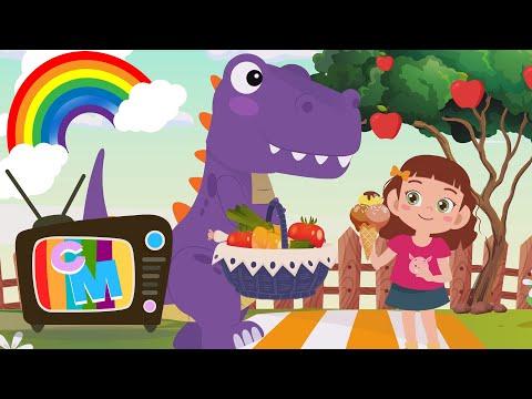 Dinozaurul Mov  – Clopotelul Magic – cantece pentru copii  – Cantece pentru copii in limba romana
