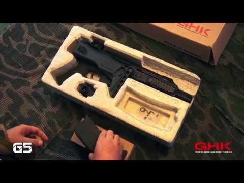 Review GHK G5 - 47浪人 Ronin Airsoft Milsim Clan