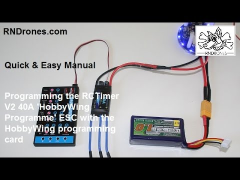 Programming HobbyWing ESCs: Quick & Easy Manual
