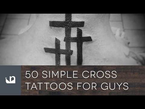 50 Simple Cross Tattoos For Men