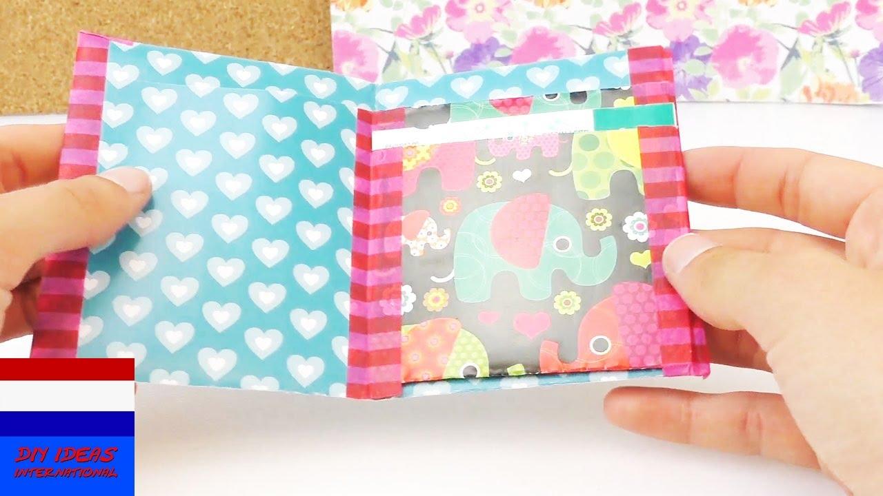 Portemonnee vouwen van papier eigen portemonnee knutselen diy wallet youtube - Volwassen kamer ideeen ...