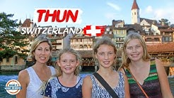 Thun Switzerland - Discover The Hidden Secrets of This Beautiful City |  90+ Countries With 3 Kids
