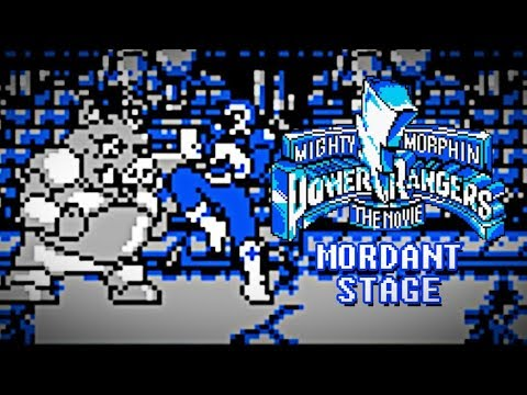 Mighty Morphin Power Rangers: The Movie (Game Boy) - Mordant Stage Gameplay