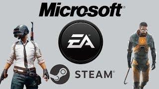ليه Microsoft بتسعى للاستحواذ على EA , Valve , PUBG