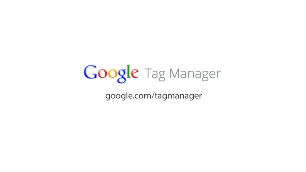 Introduction To Google Tag Manager Youtube