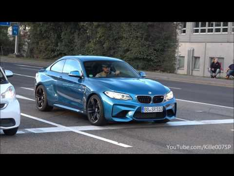 BMW M2 revs & lovely sounds 1080p