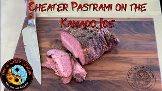 Cheater Pastrami from Pre Made Corned Beef Sous Vide & Kamado Joe