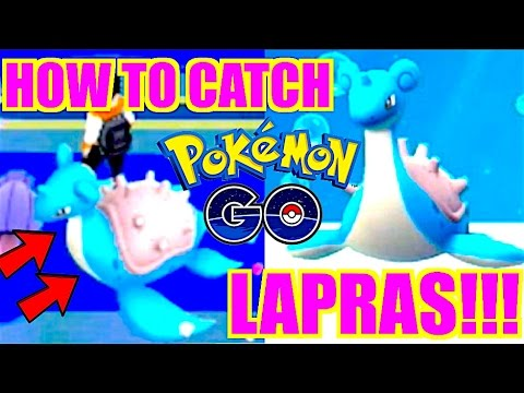 HOW TO GET LAPRAS POKEMON GO LOCATION (AFTER UPDATE!!)